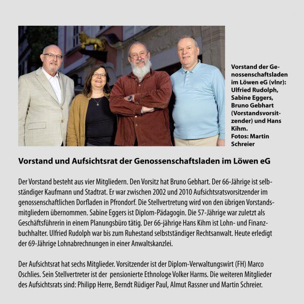Seite 4 Löwen-Laden-Flyer. Layout: Madeleine Herre. Foto: Martin Schreier