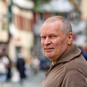 Hans Kihm, Vorstandsmitglied bei Genossenschaftsladen im Löwen eG. Tübingen 2015. Foto: Martin Schreier / www.schreier.co