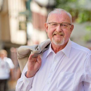 Ulfried Rudolph, Vorstandsmitglied bei Genossenschaftsladen im Löwen eG. Tübingen 2015. Foto: Martin Schreier / www.schreier.co